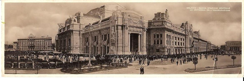 Opening van het nieuwe Milano Centrale.