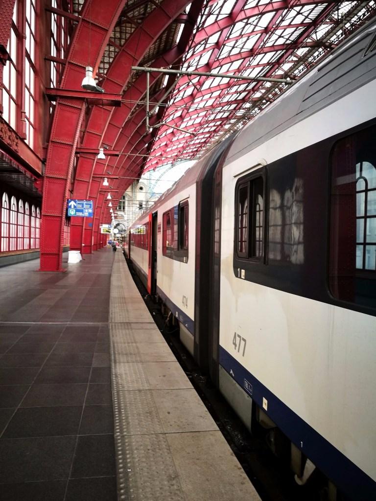 Westhoek met de trein