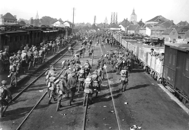 Treinverkeer Eerste Wereldoorlog