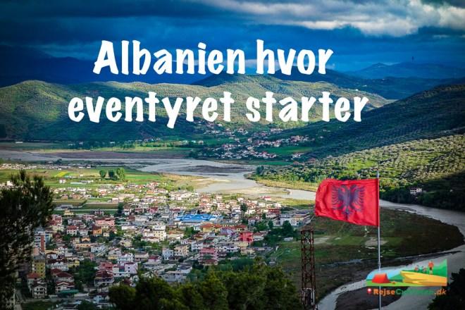 turcykling i Albanien