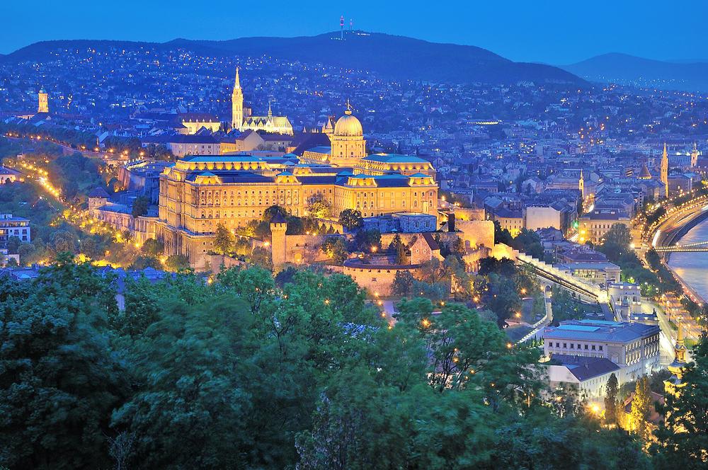 Tjekkiets hovedstad Budapest