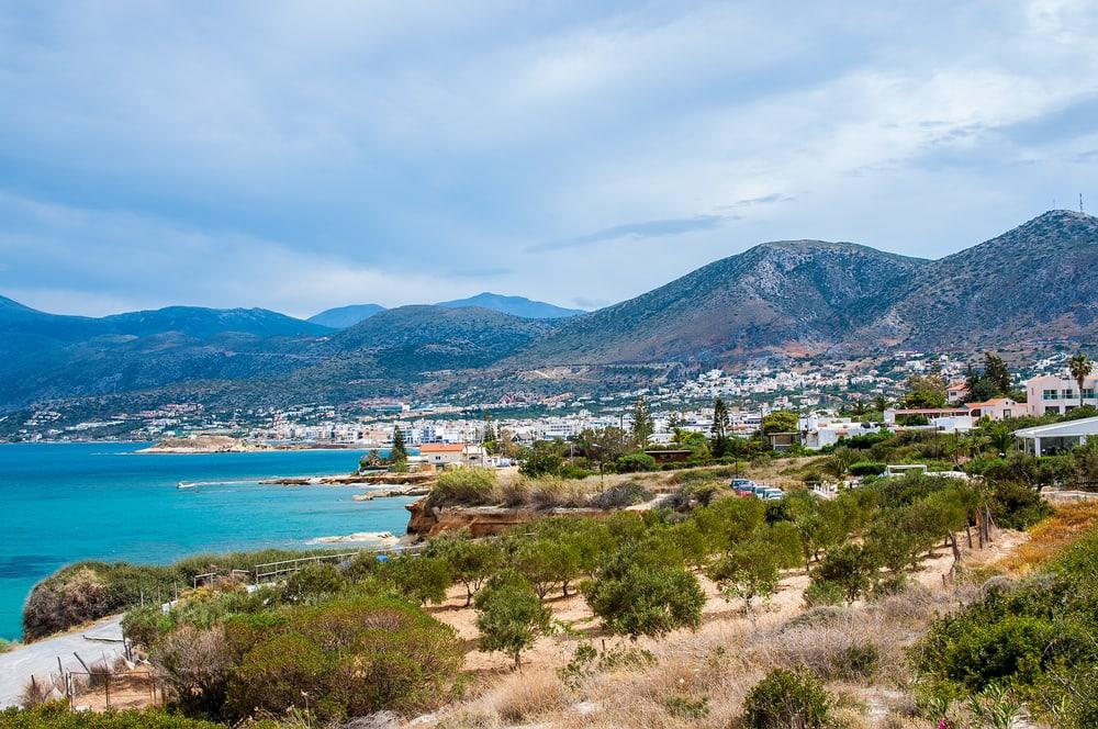 Den græske ø Kreta