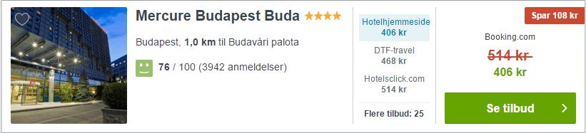 Mercure Budapest Buda
