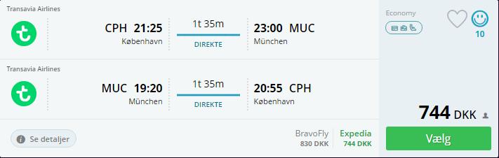 Flyv til Oktoberfest i München