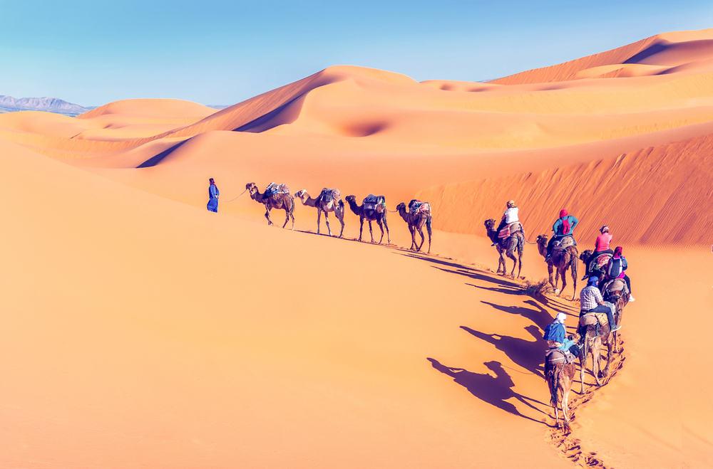Sahara ørkenen - Marokko