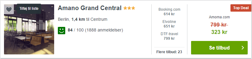 Hotel Amano Grand Central - Berlin