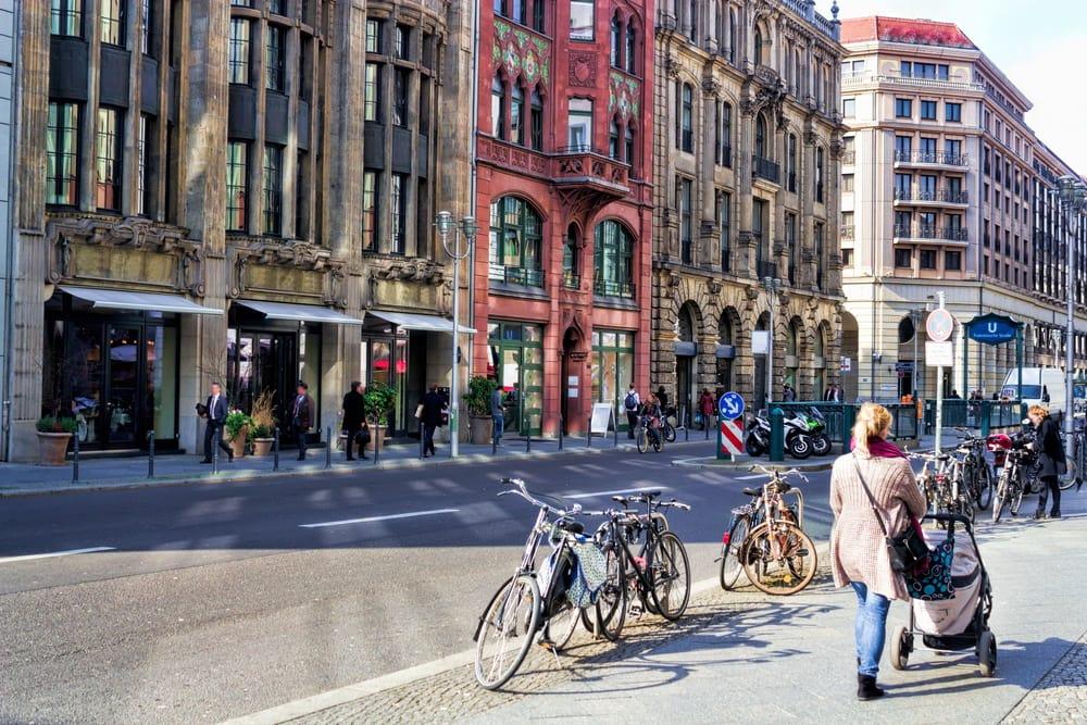 Friedrichstrasse i Berlin