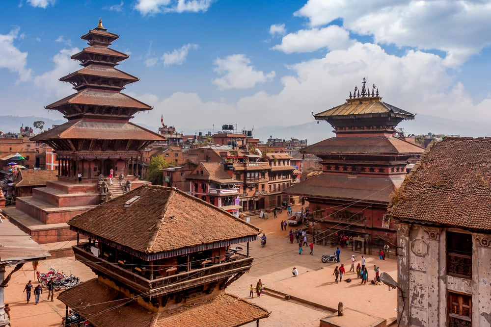 Bhaktapur - Katmandu i Nepal