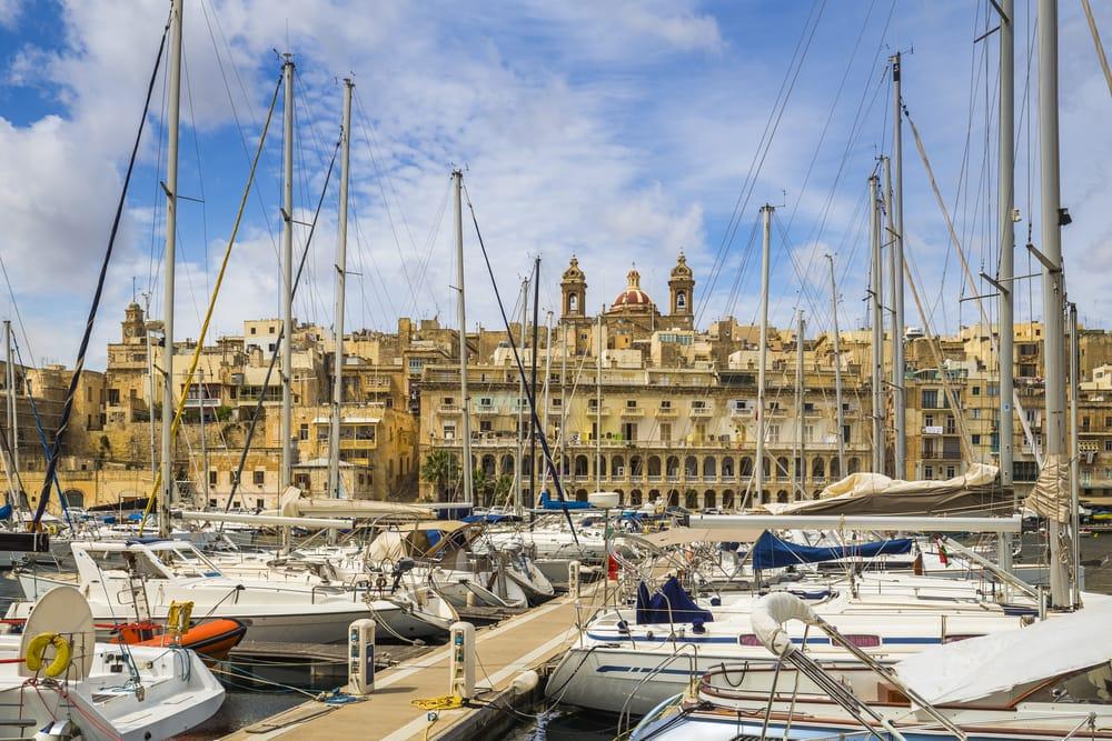 Birgu på Malta