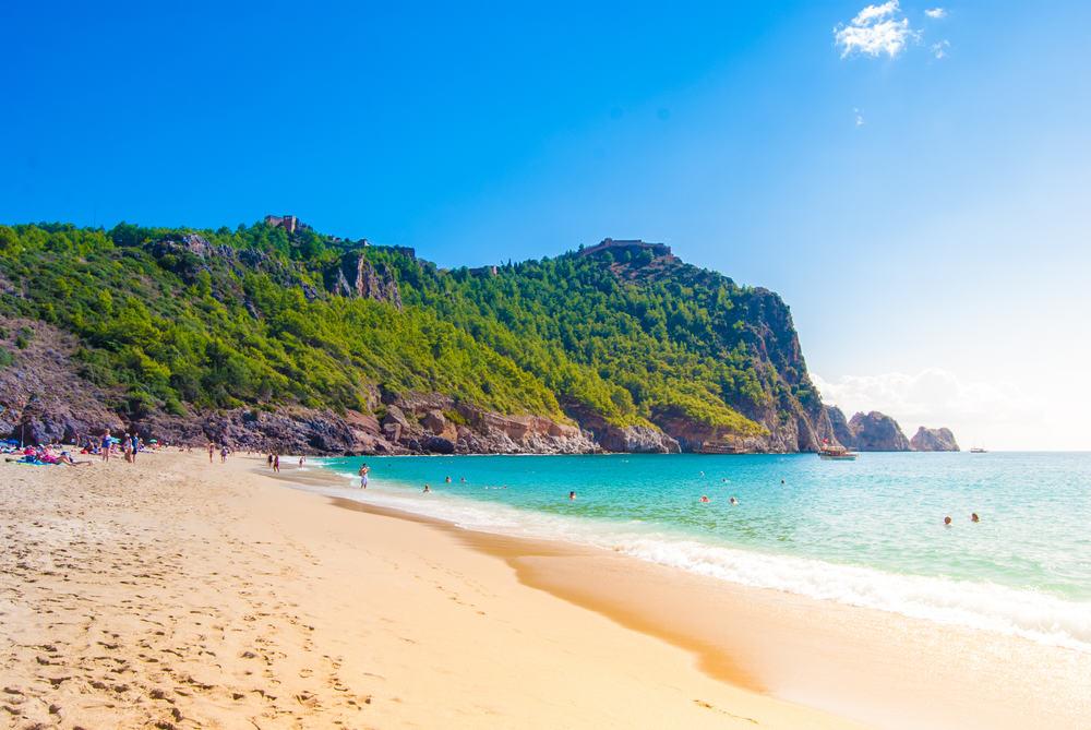 Cleopatra stranden - Antalya i Tyrkiet