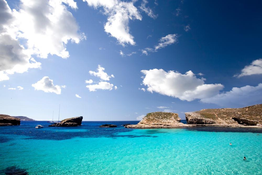 Comino på Malta