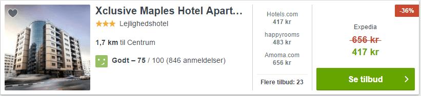 Xclusive Maples Hotel Apartment - Dubai