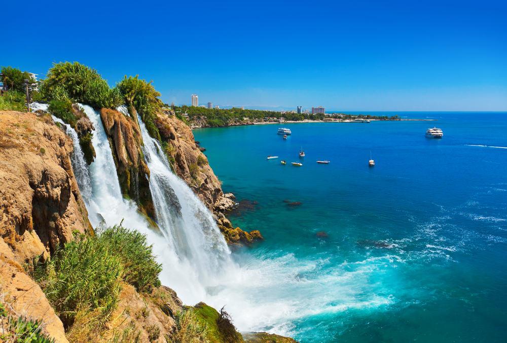 Duden vandfaldet - Antalya i Tyrkiet