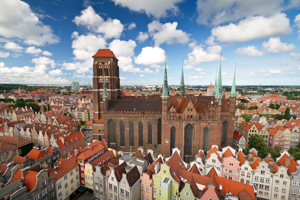St. Marys Katedralen - Gdansk i Polen