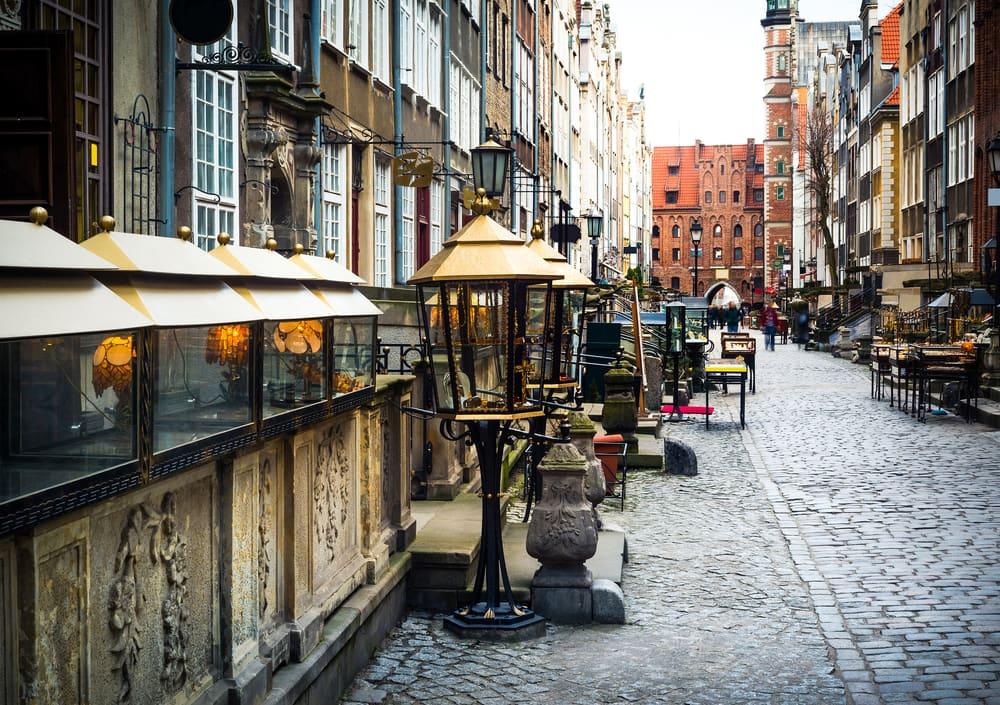 Mariacka gaden - Gdansk i Polen