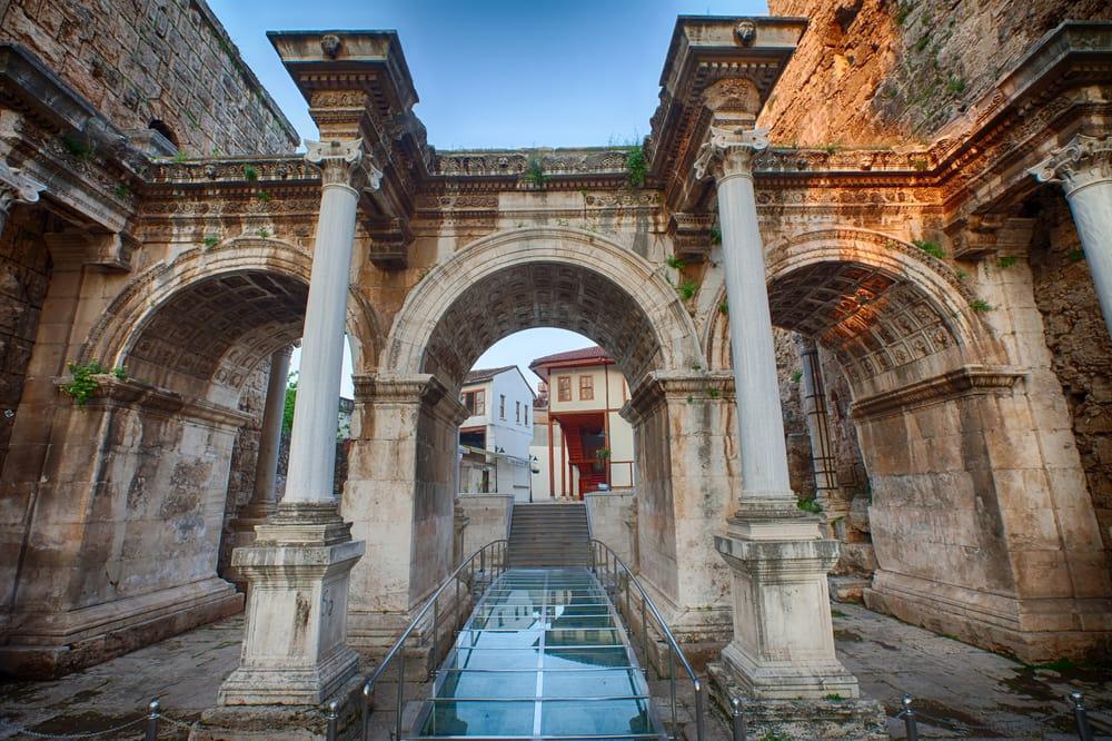 Hadrian's porten - Antalya i Tyrkiet