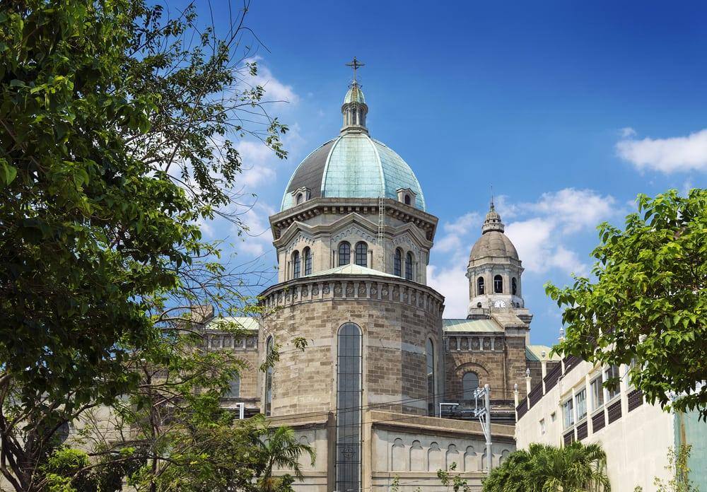 Katedral i Manila i Filippinerne