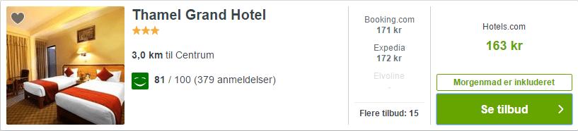 Thamel Grand Hotel - Katmandu i Nepal