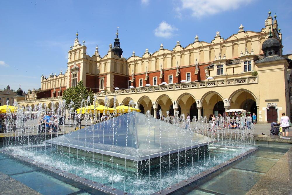 Sukiennice - Krakow i Polen