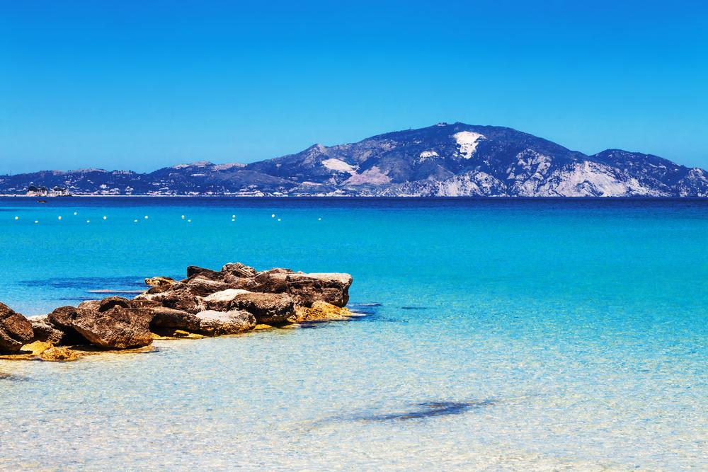 Limni Keriou stranden - Zakynthos i Grækenland