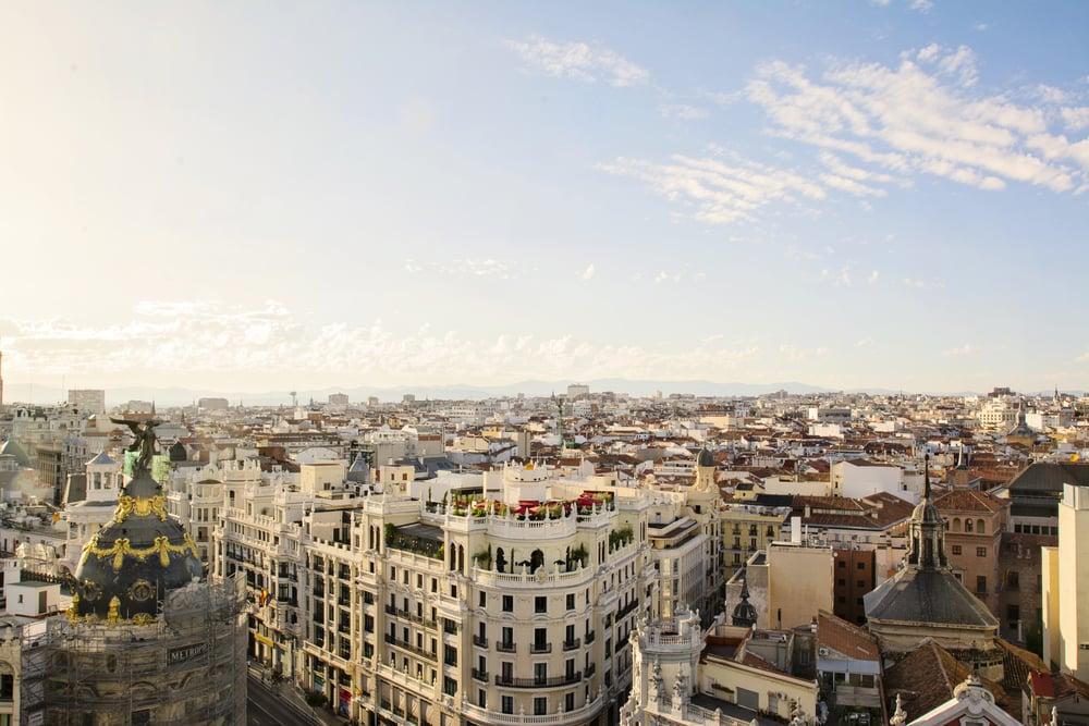 Madrids skyline
