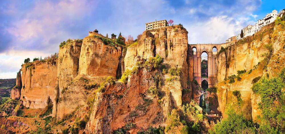 Ronda i Malaga - Spanien