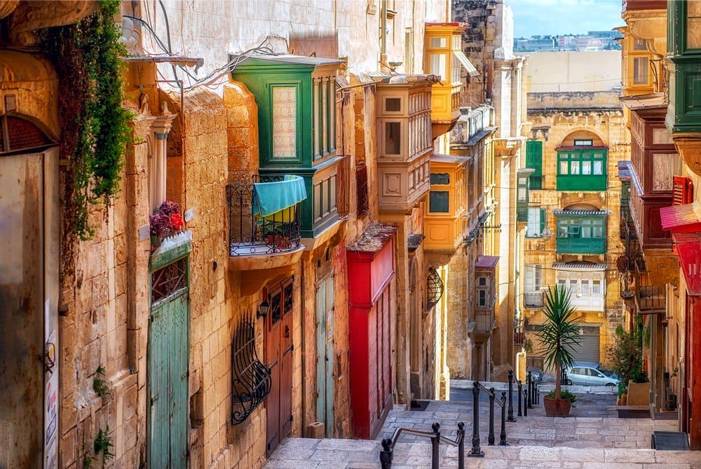 Den italienske ferieø Malta