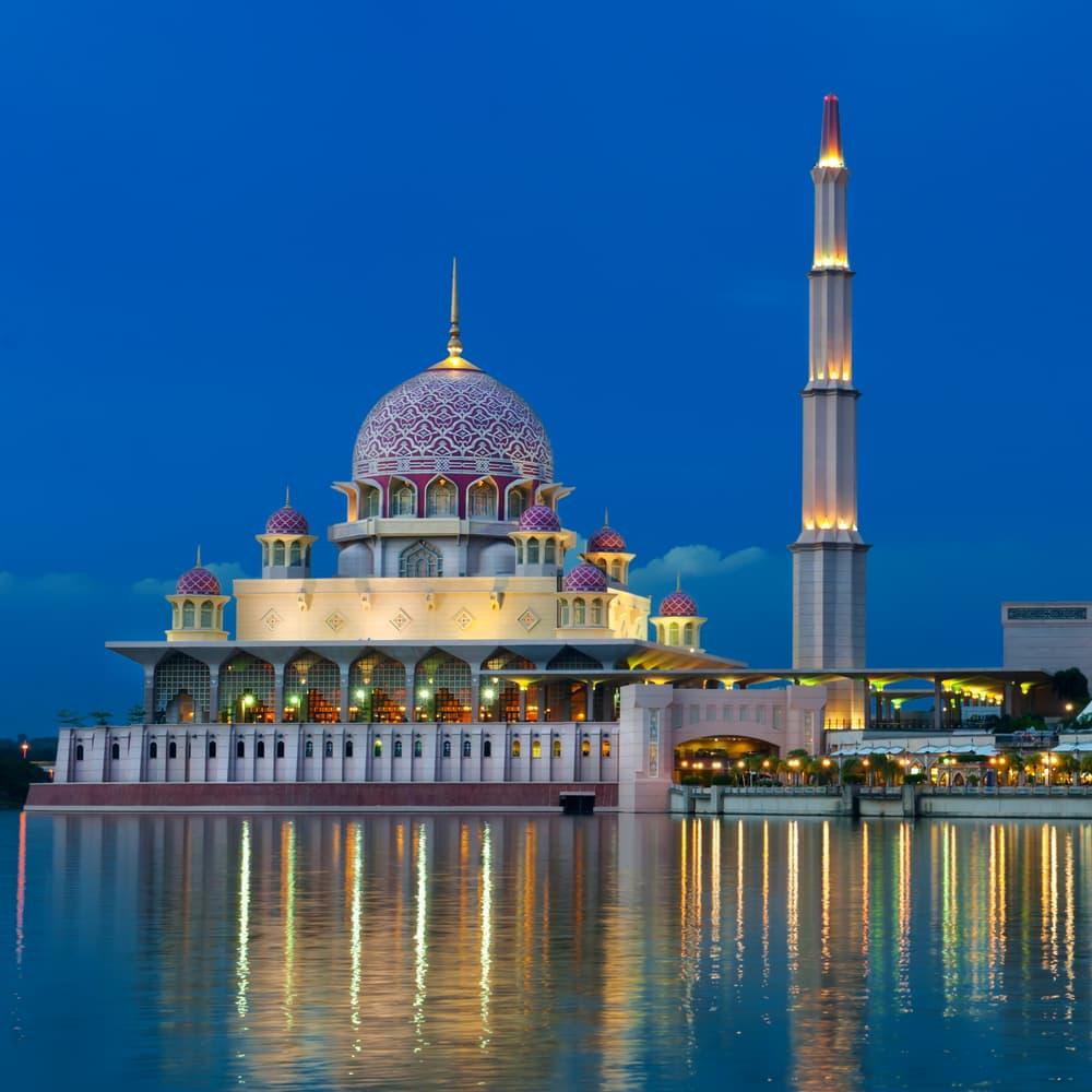 Kuala moskeen i Kuala Lumpur