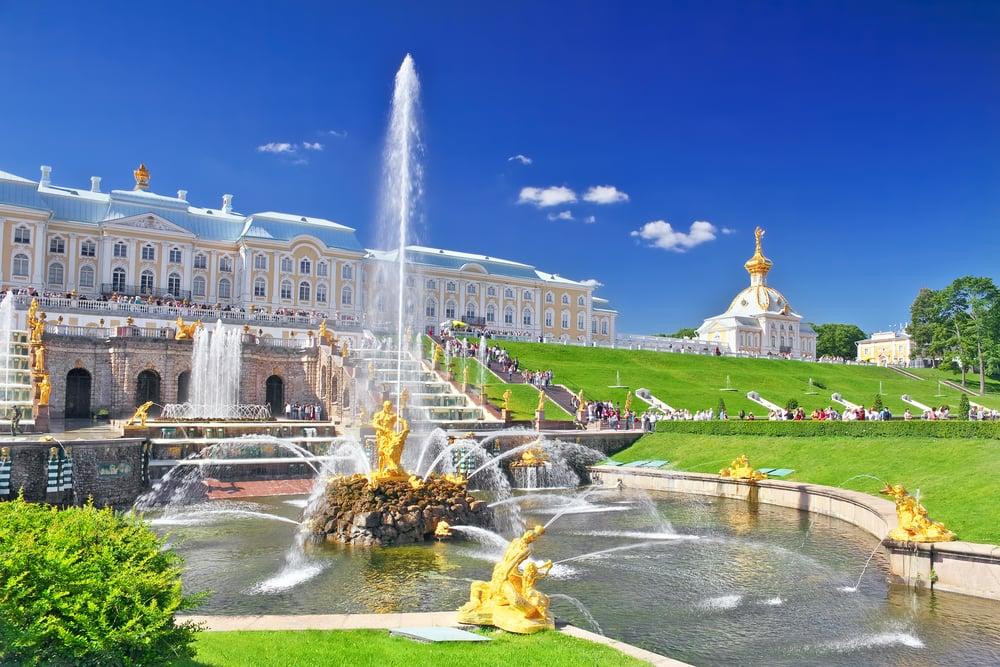 Pertergof - Sankt Petersborg i Rusland
