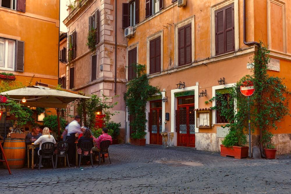 Trastevere - Rom i Italien