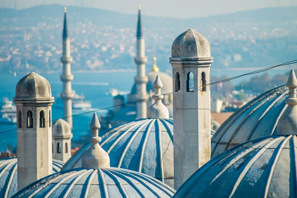 Suleymaniye moskeen - Istanbul i Tyrkiet