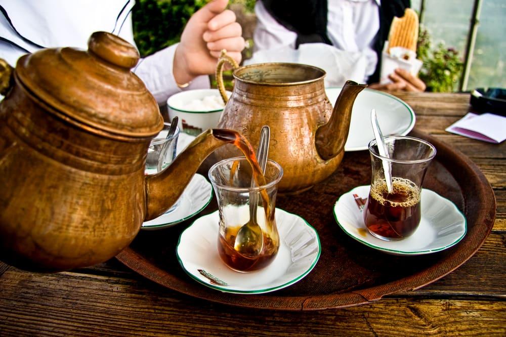 Tyrkisk te - Istanbul i Tyrkiet