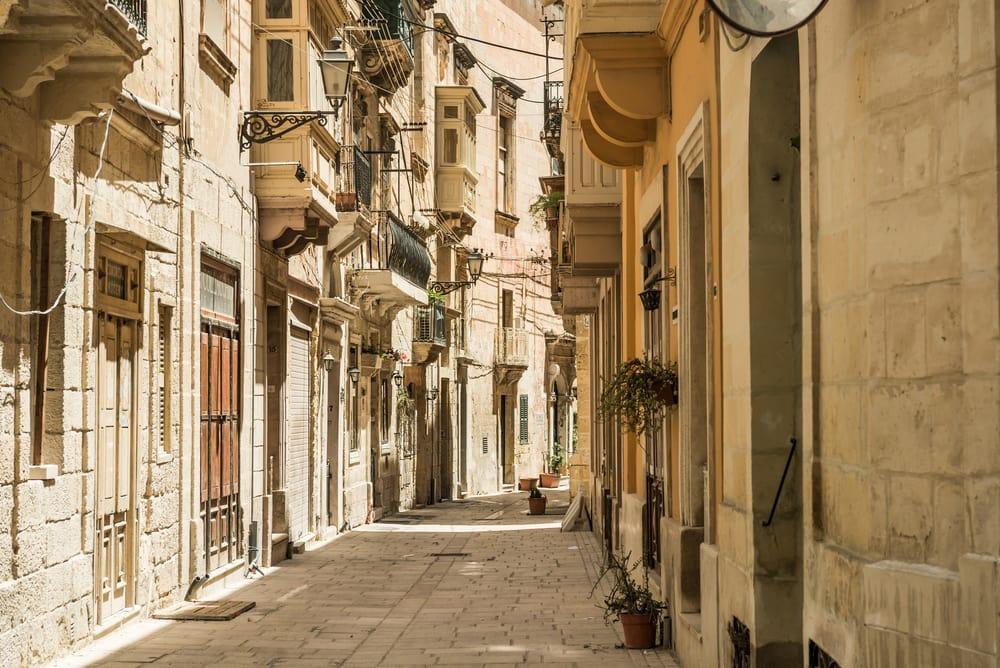 Valletta på Malta