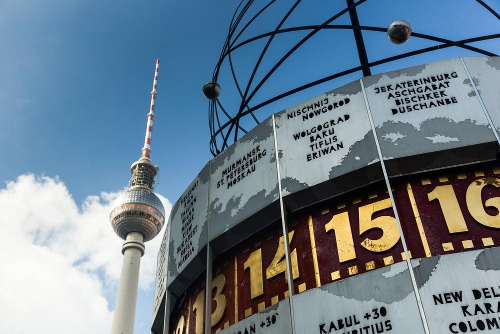 Verdensuret på Alexanderplatz - Berlin i Tyskland