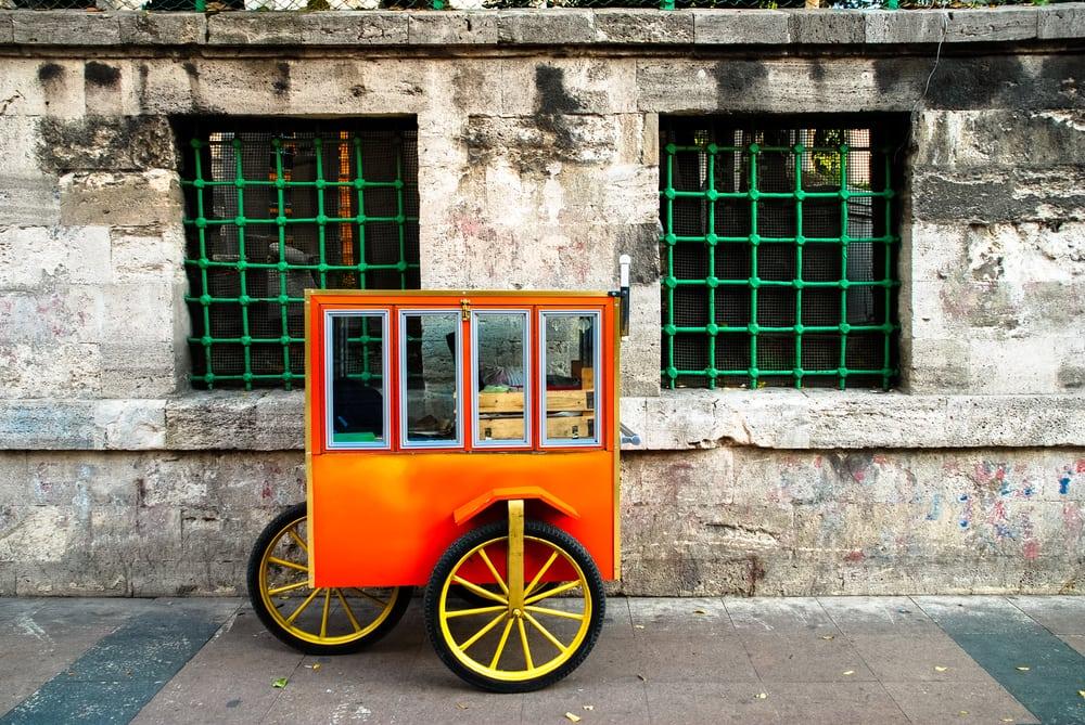 En bagers vogn - Istanbul i Tyrkiet