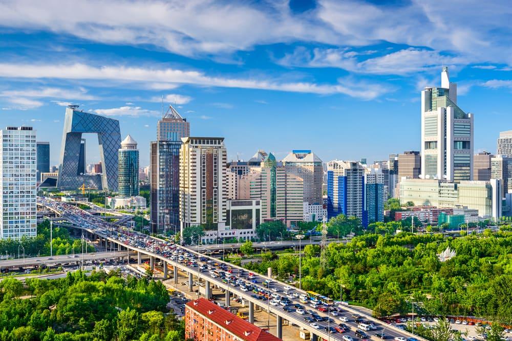 Beijing i Kina