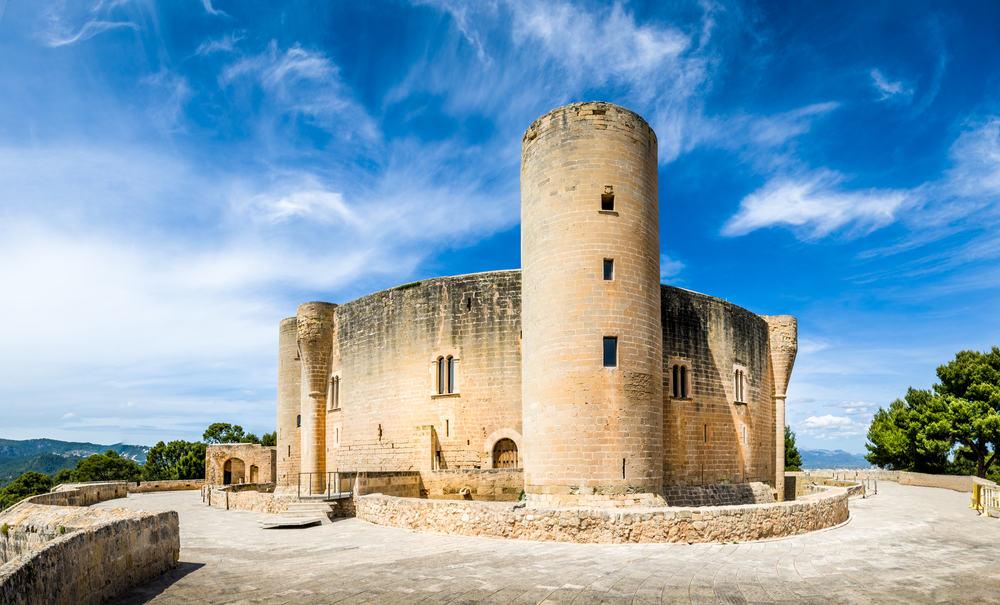 Bellver Castle - Mallorca i Spanien