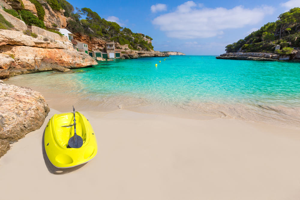 Cala Llombards Santanyi - Mallorca i Spanien