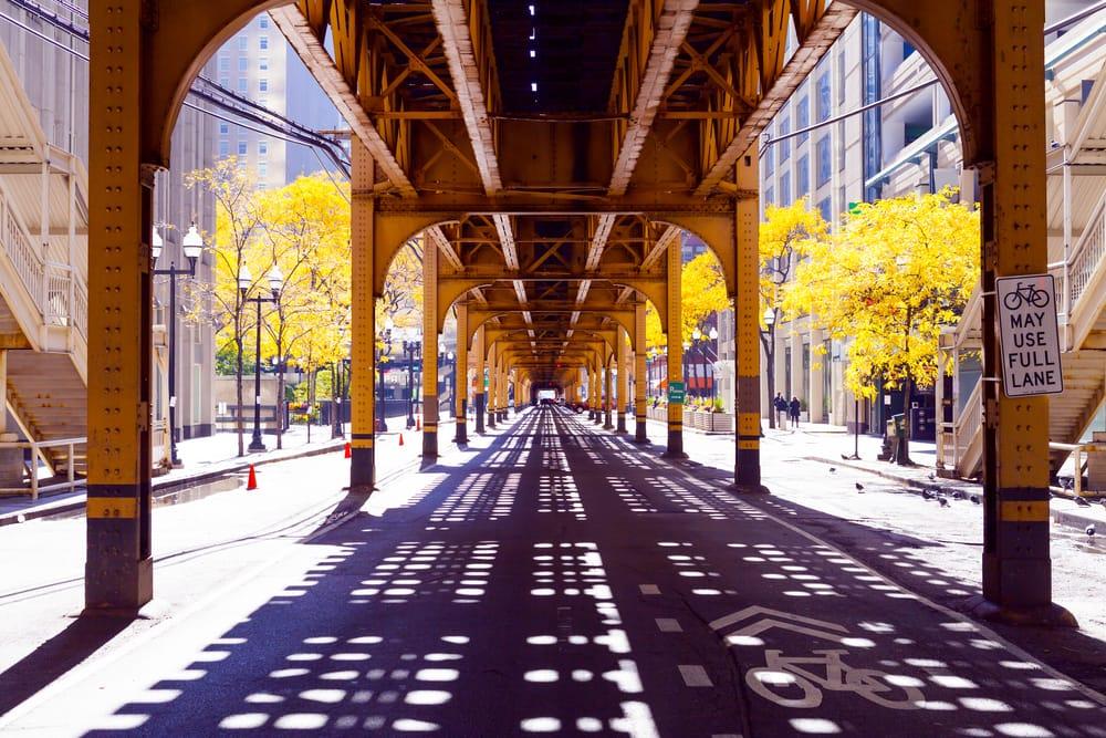 Chicago Street - Chicago i Illinois