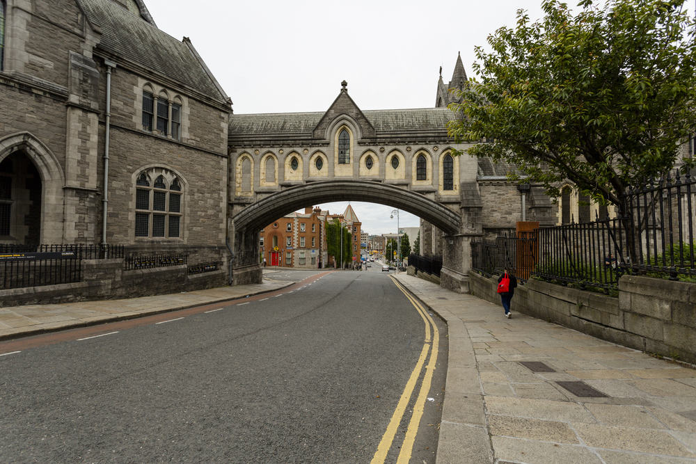 Christ Church Cathedral - Dublin i Irland