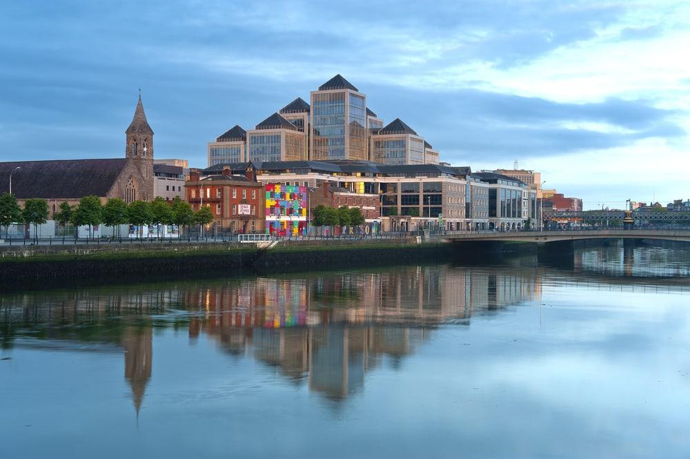 Flod i Dublin i Irland
