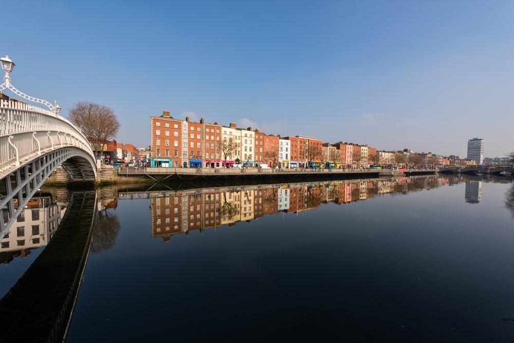 Hapenny Bridge - Dublin i Irland