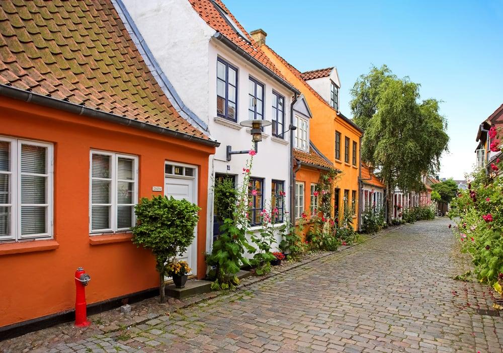 Hyggelig gade i Århus