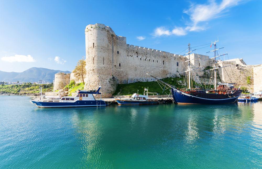 Kyrenia slottet - Cypern
