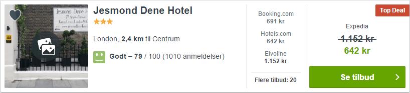 Jesmond Dene Hotel - London i England