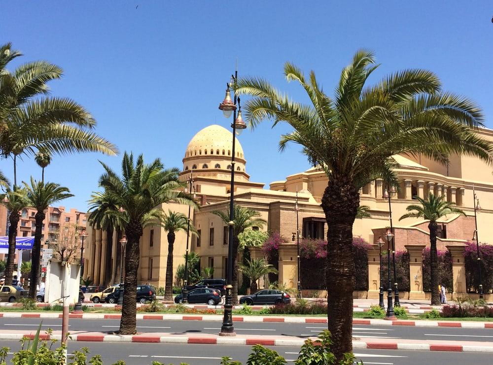 Operahuset - Marrakech i Marokko