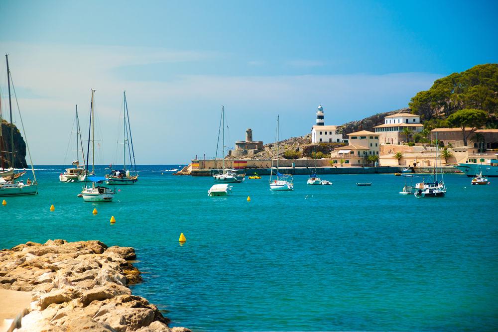 Puerto de Soller - Mallorca i Spanien