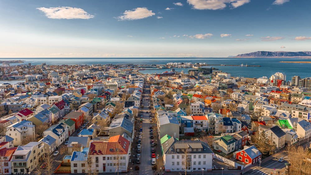 Reykjavik i Island