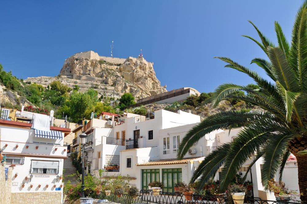 Santa Barbara slot - Alicante i Spanien