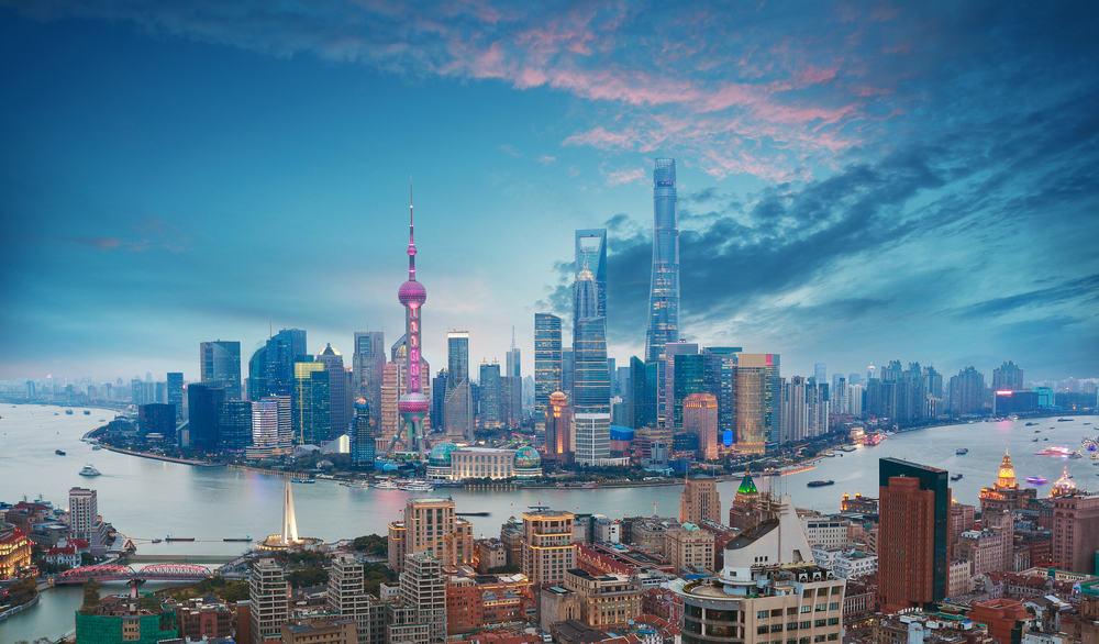 Skyline - Shanghai i Kina
